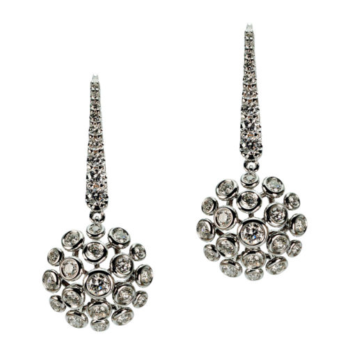 White gold earrings Bolle Collection