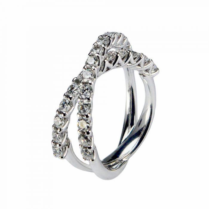 anello-collezione-carini-flow-intrecciato-singolo