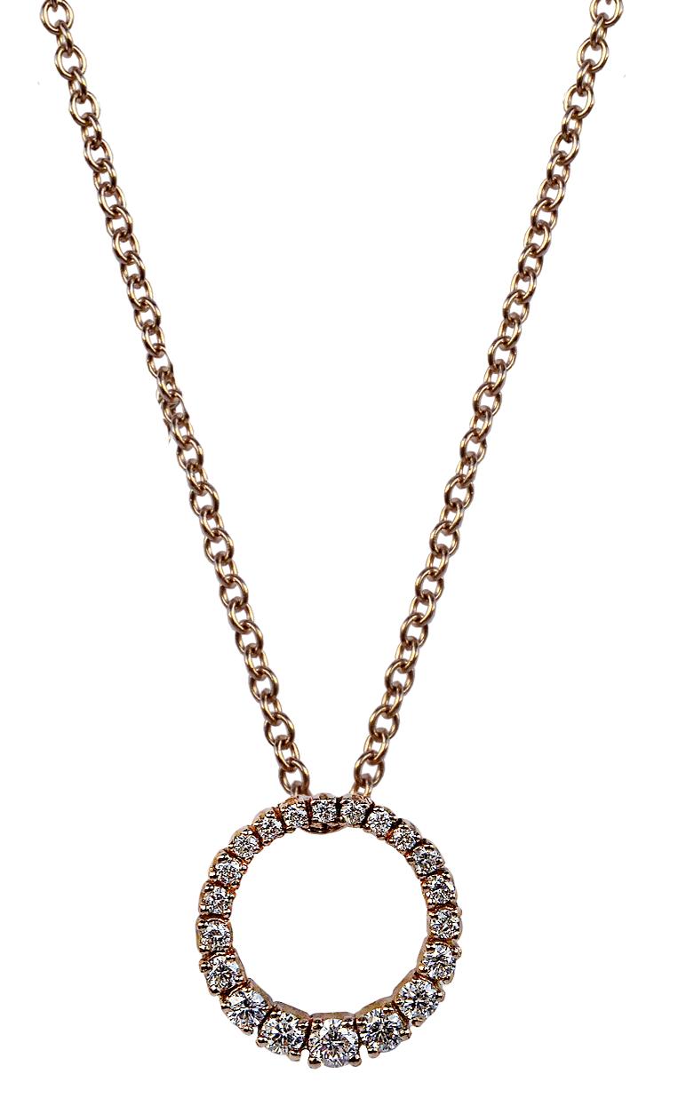 Pendente -ciondolo con diamanti-Carini gioielli